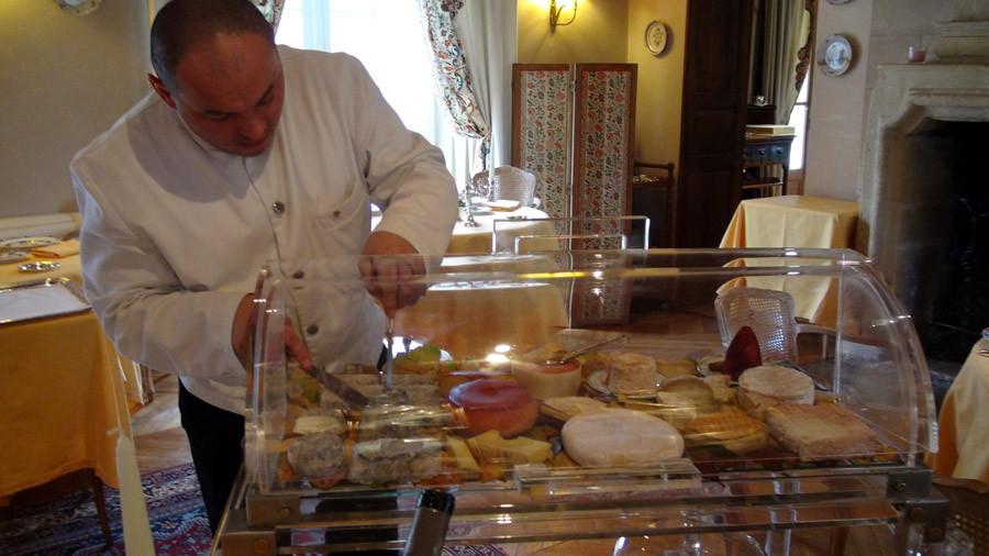 Service des fromages par Thibault