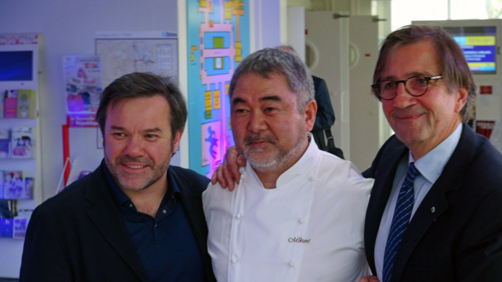 Michel Troisgros - Kiyomi Mikuni - Olivier Roellinger