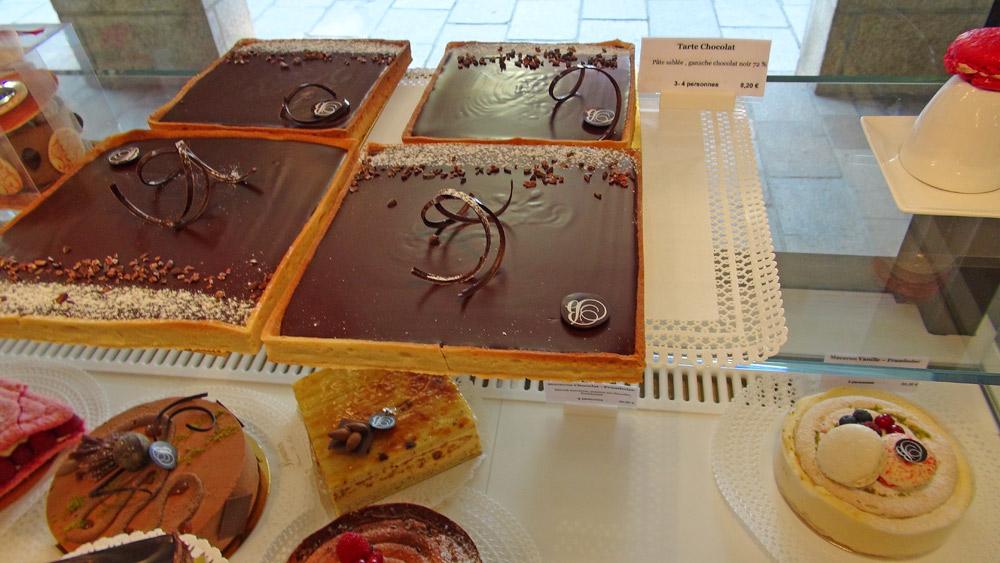 Tartes au chocolat