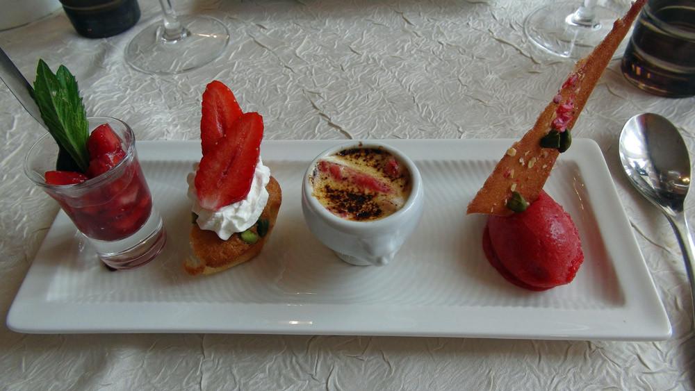 Déclinaison autour de la fraise de Sologne