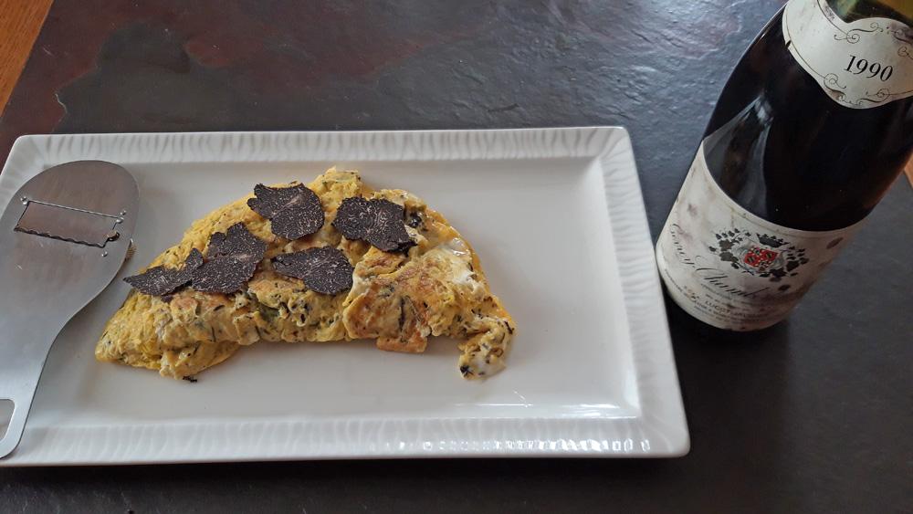 L'omelette une fois cuite (Lespagnol)
