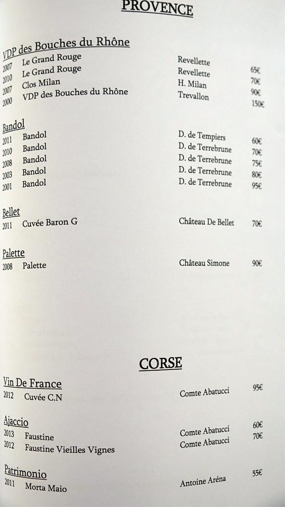 Provence et Corse (15 références)