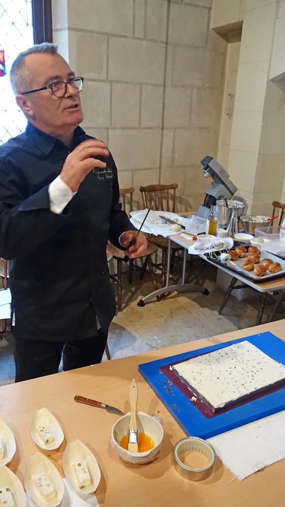 """Rémy Giraud et la préparation de son Nougat """"Comtesse de Chambord"""""""