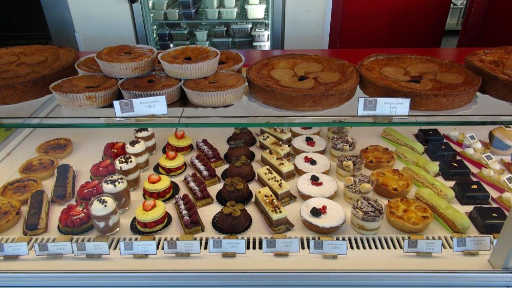 Quelques gâteaux basques et petits gâteaux