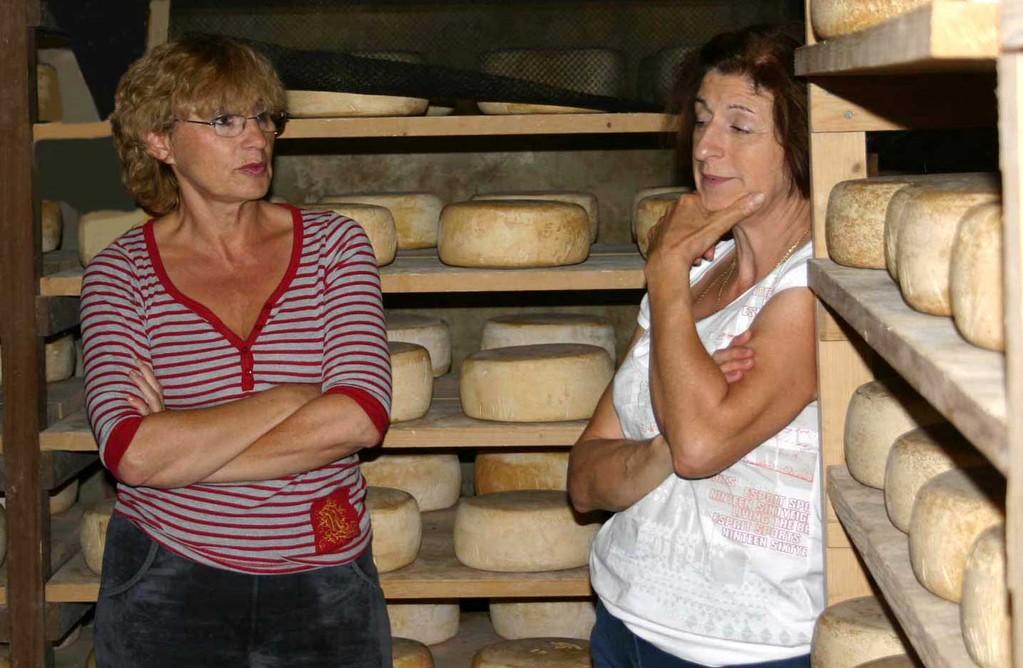 Pascale et madame Domini