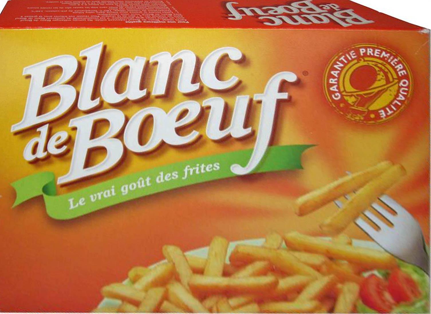 """Le fameux """"blanc de bœuf"""" (graisse de bœuf)"""