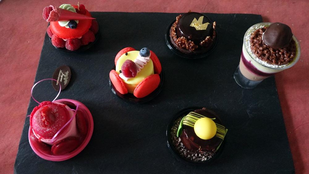 Les 6 gâteaux choisis