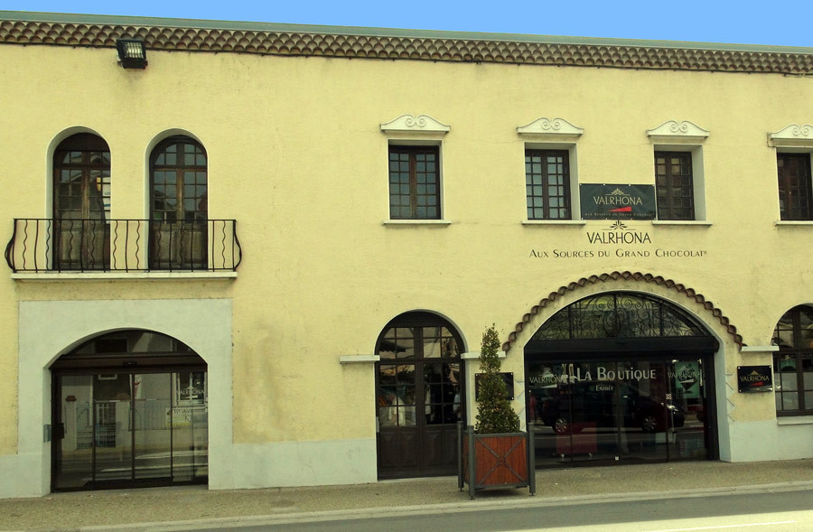 La façade de la boutique