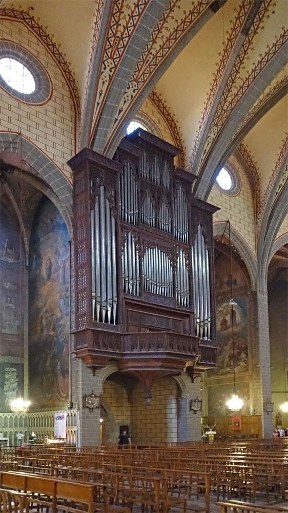 L'orgue de la cathédrale Saint-Jean-Baptiste