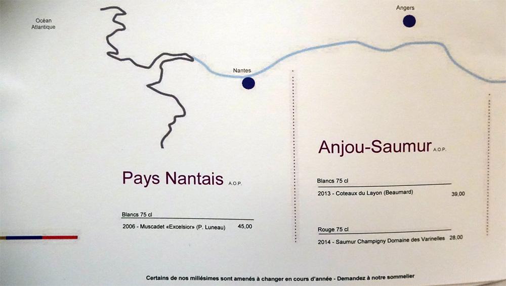 Vins du Pays Nantais et d'Anjou-Saumur
