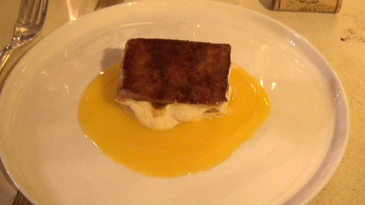 Mille-feuille, caramélisé à la vanille Bourbon (Eric Reithler)