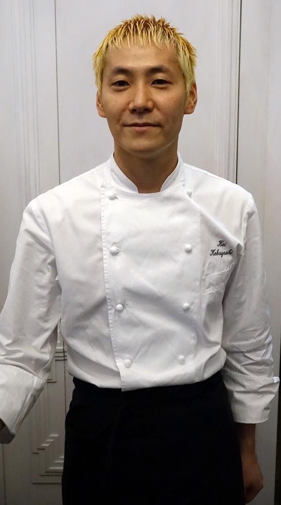 Le chef, Kei Kobayashi