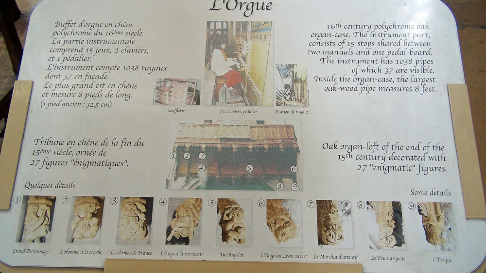 "Moret-sur-Loing : quelques explications sur le ""buffet d'orgue"""
