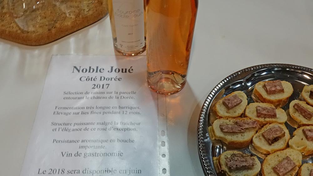 """Noble-Joué """"Côte dorée"""" 2017"""