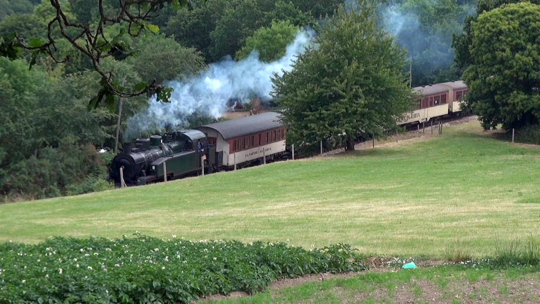 Le vapeur du Trieux arrive à Pontrieux