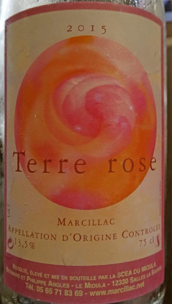 Le Marcillac rosé