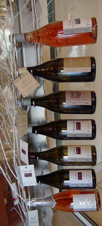 La gamme des vins du domaine