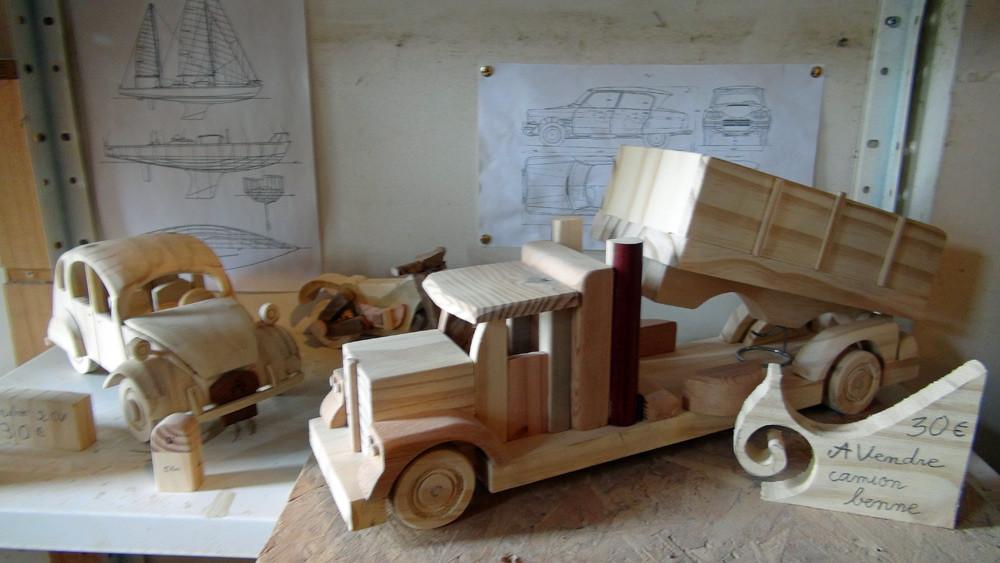 Les produits en bois en vente
