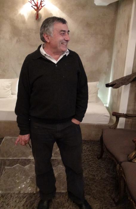 Le propriétaire, Jean-Pierre Ricci