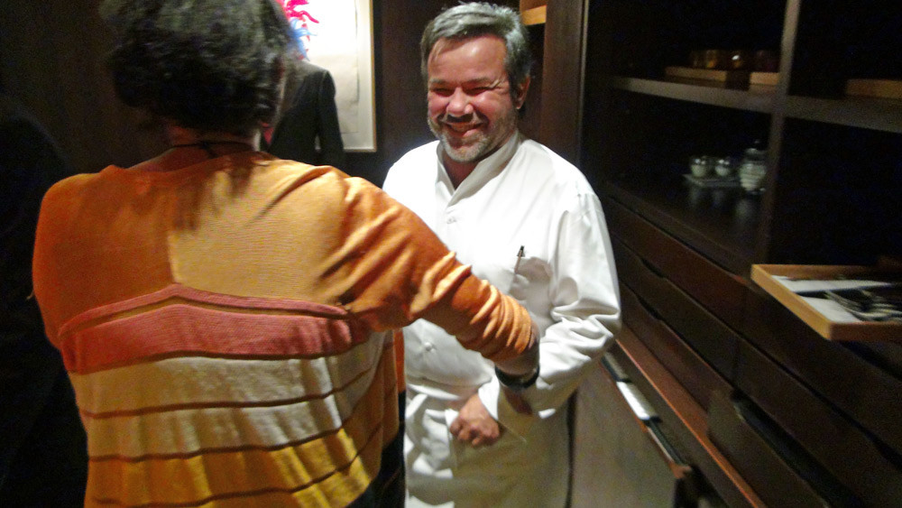 Marie-Pierre & Michel Troisgros me conduisent en cuisine