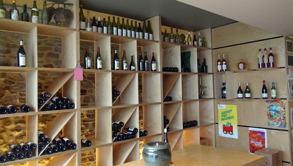 Quelques vins exposés