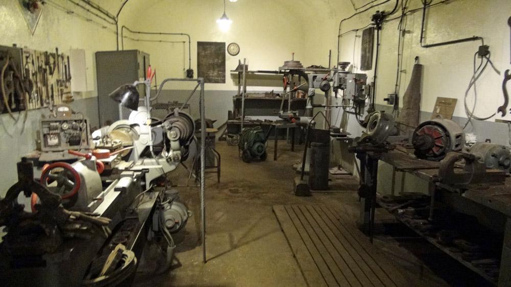 Atelier de réparation