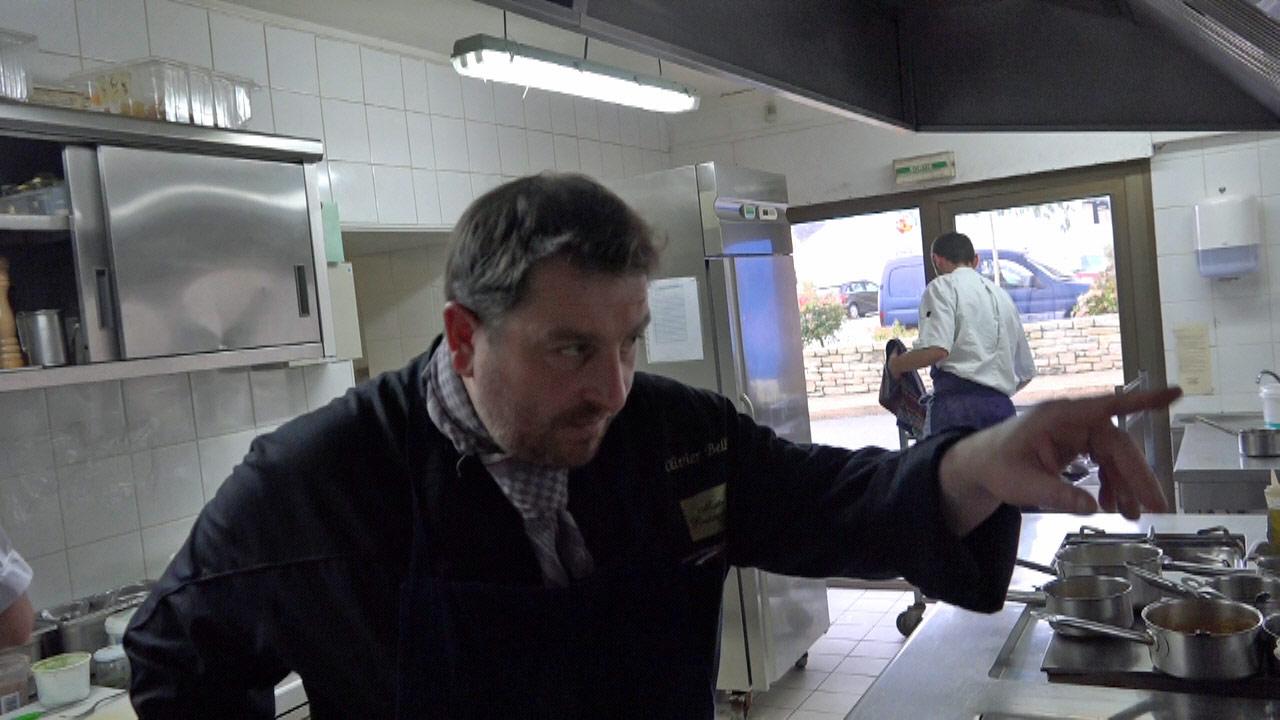 Olivier Bellin en cuisine