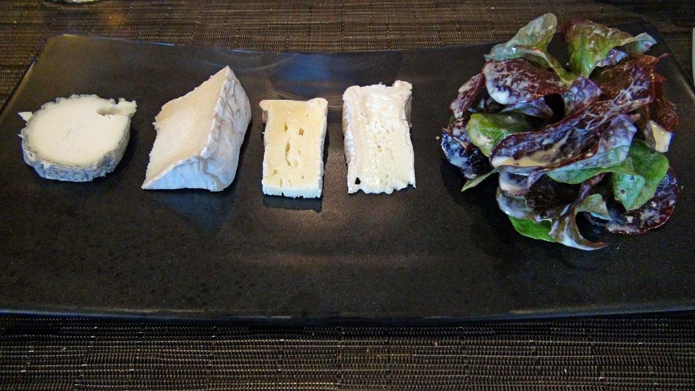 Assiette de 4 fromages AOP
