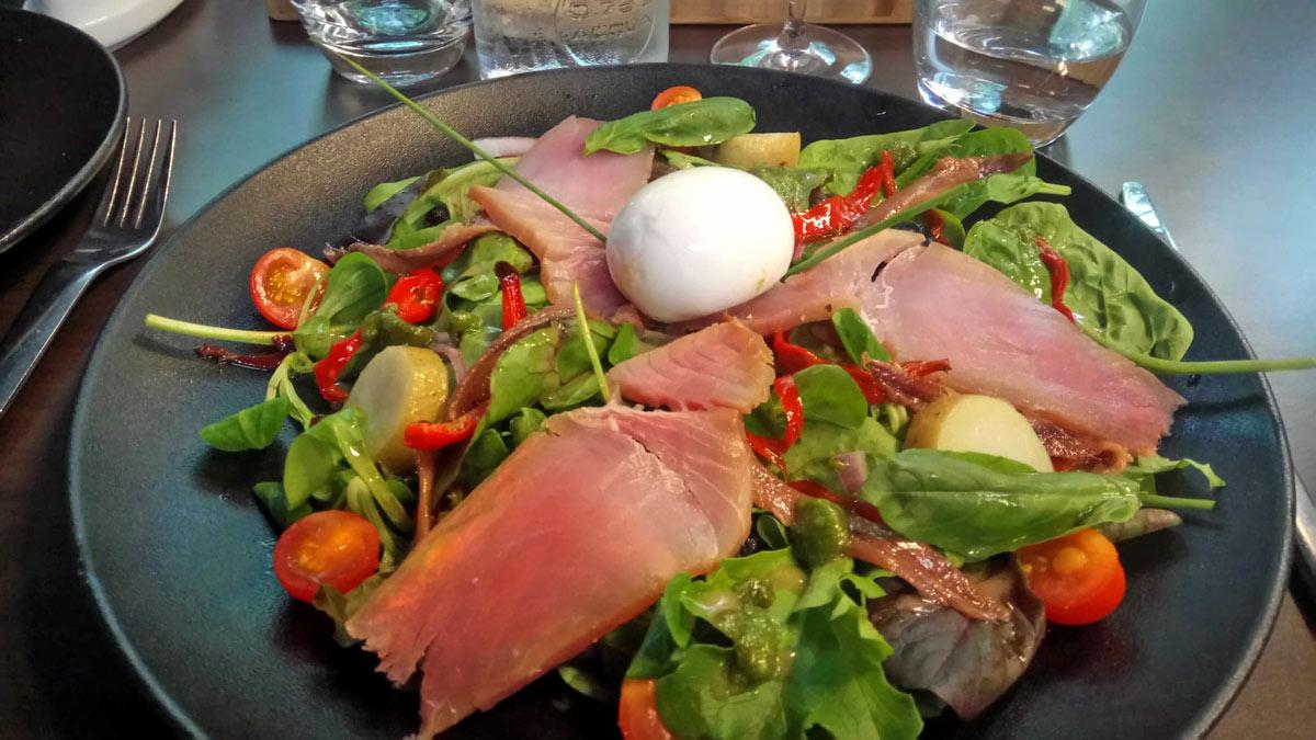 Salade Niçoise revistée !