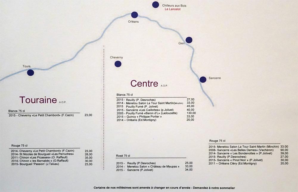 Vins de Touraine et du Centre