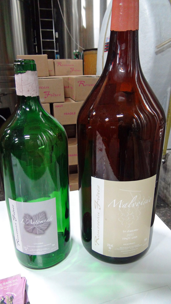 Grandes bouteilles !