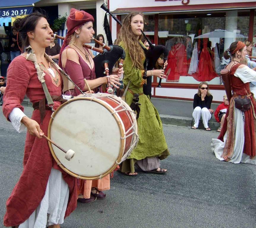 Défilé rue Trottier - Les Dragons du Cormyr® - 28/07/12