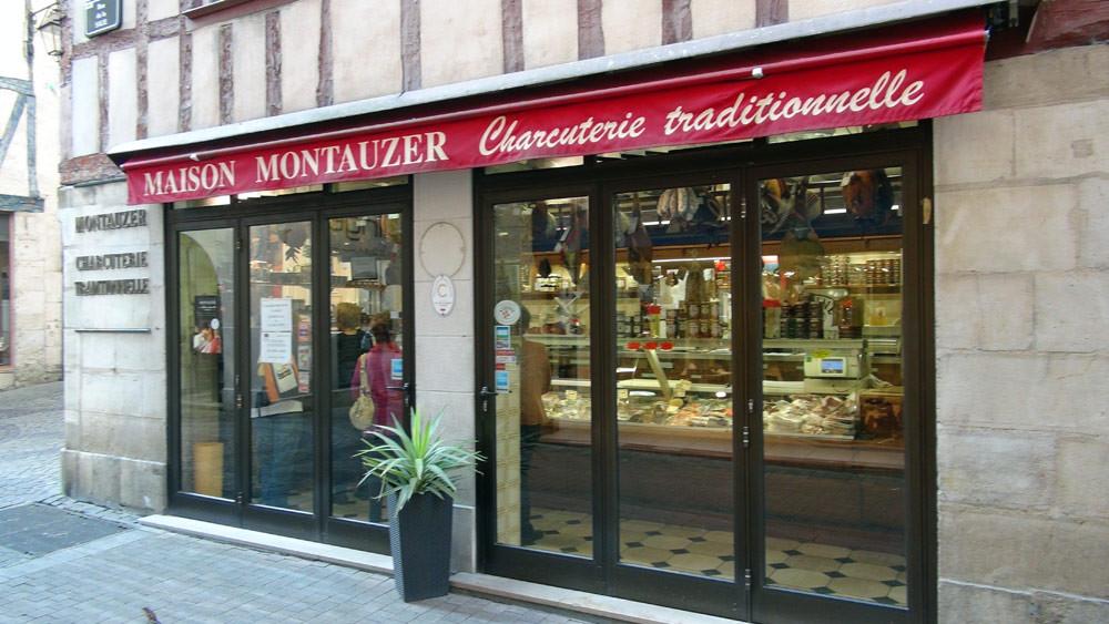 La charcuterie Montauzer à Bayonne