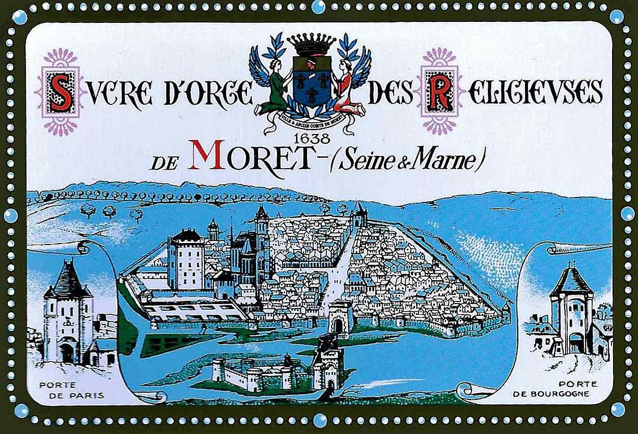 """Boîte de """"Sucre d'Orge des Religieuses de Moret"""