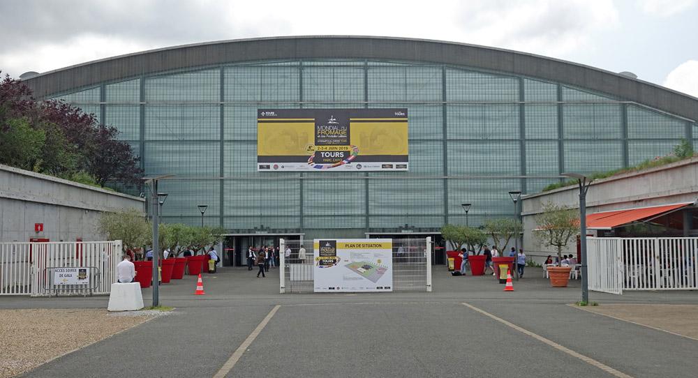 Le pavillon d'accueil et d'exposition