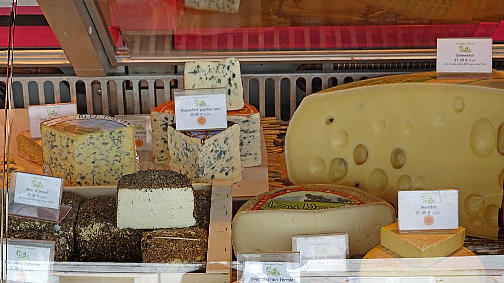 Brin d'Amour - Roquefort Papillon - Munster - Soumaintrain fermier -
