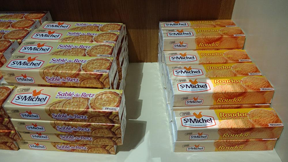 Biscuits Saint-Michel, vus de plus près