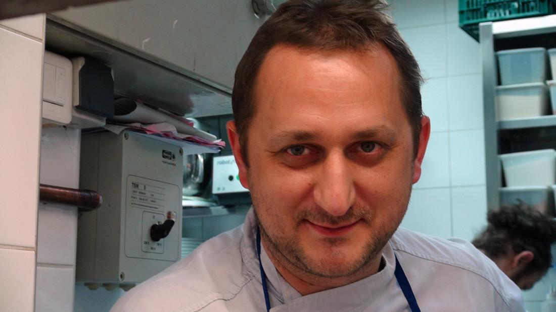 Sylvain Danière, le chef