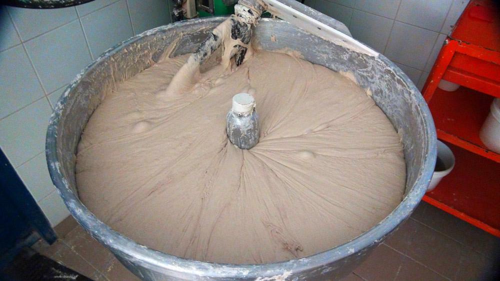 170 kg de pâte à pain en attente !