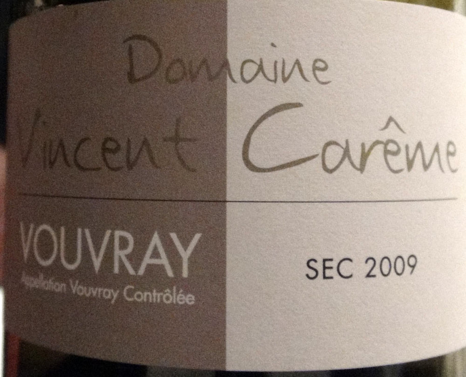 Vouvray sec 2009