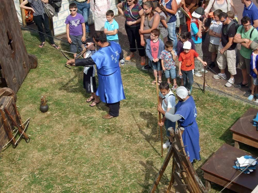 Les séances de tir à l'arc et à l'arbalette