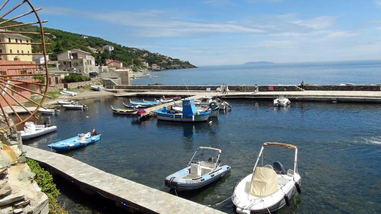 Le petit port d'Erbalunga