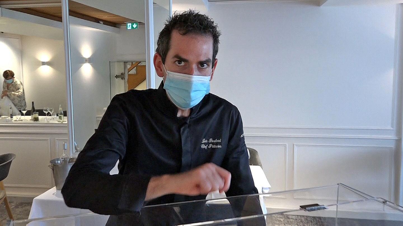 Loïc Boulard, chef pâtissier d'Au Petit Vatel