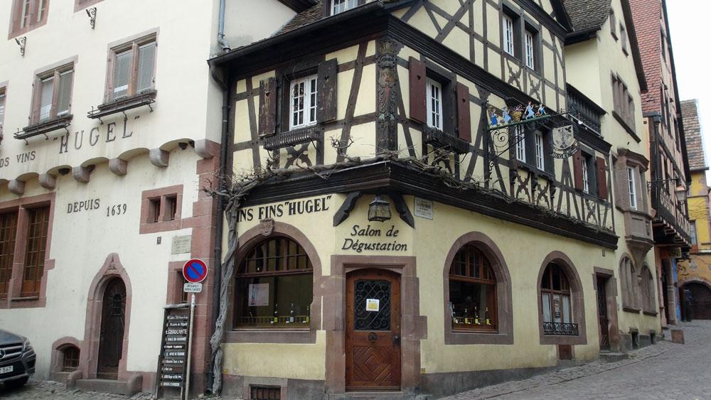 Riquewihr - Maison Hugel de 1494