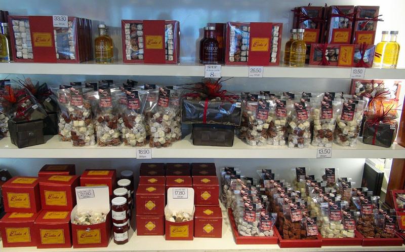 Les fabuleux nougats au chocolat : orange, citron, praliné, café et traditionnel