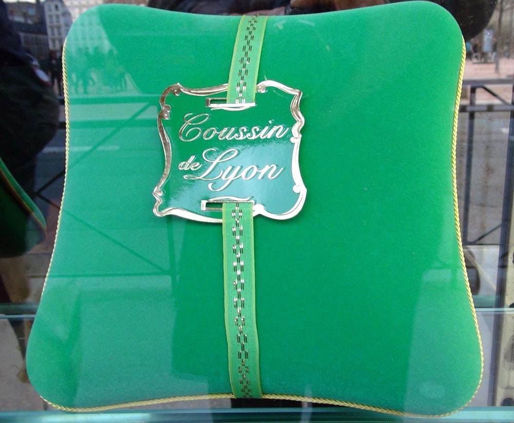 """Le fameux """"Coussin"""", en emballage"""