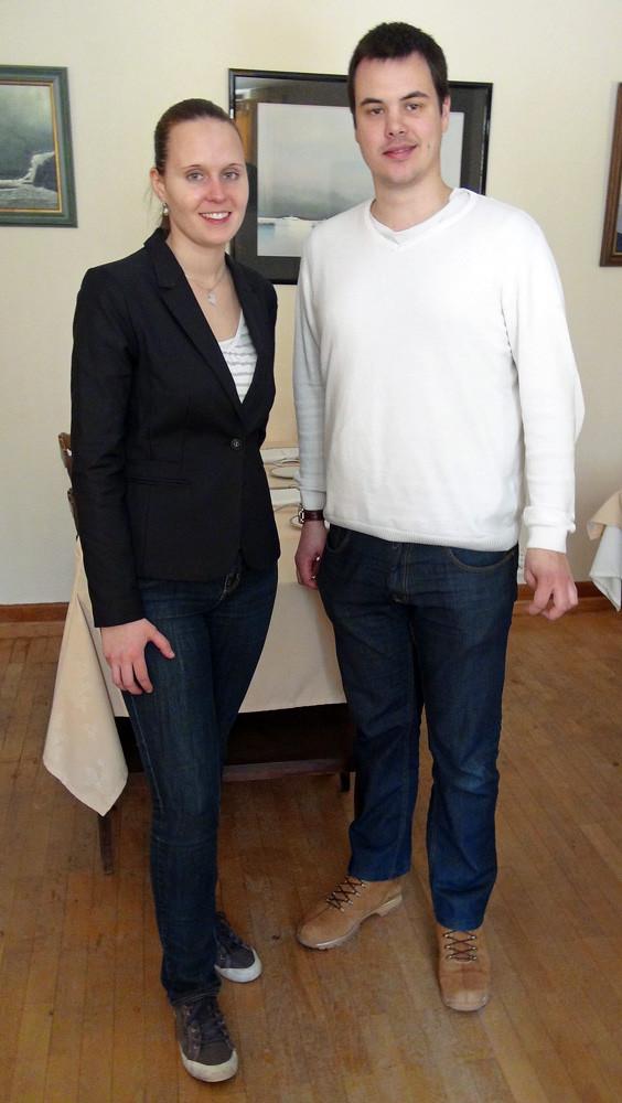 Les nouveaux propriétaires : Aurélie Roulet & Eric Rialland