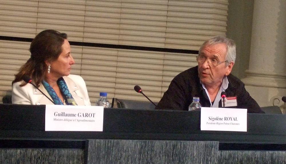 Guillaume Garot (Ministre délégué à l'Agroalimentaire) - Ségolène Royal - Votre serviteur, en plein débat dans Fraudes, contrôles : que fait l'état ?