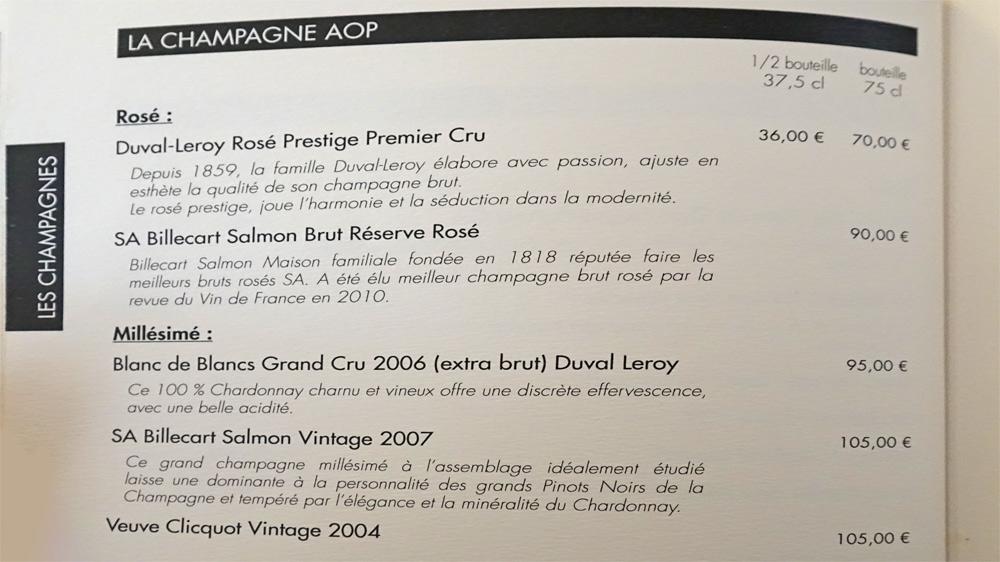 Champagnes (suite)