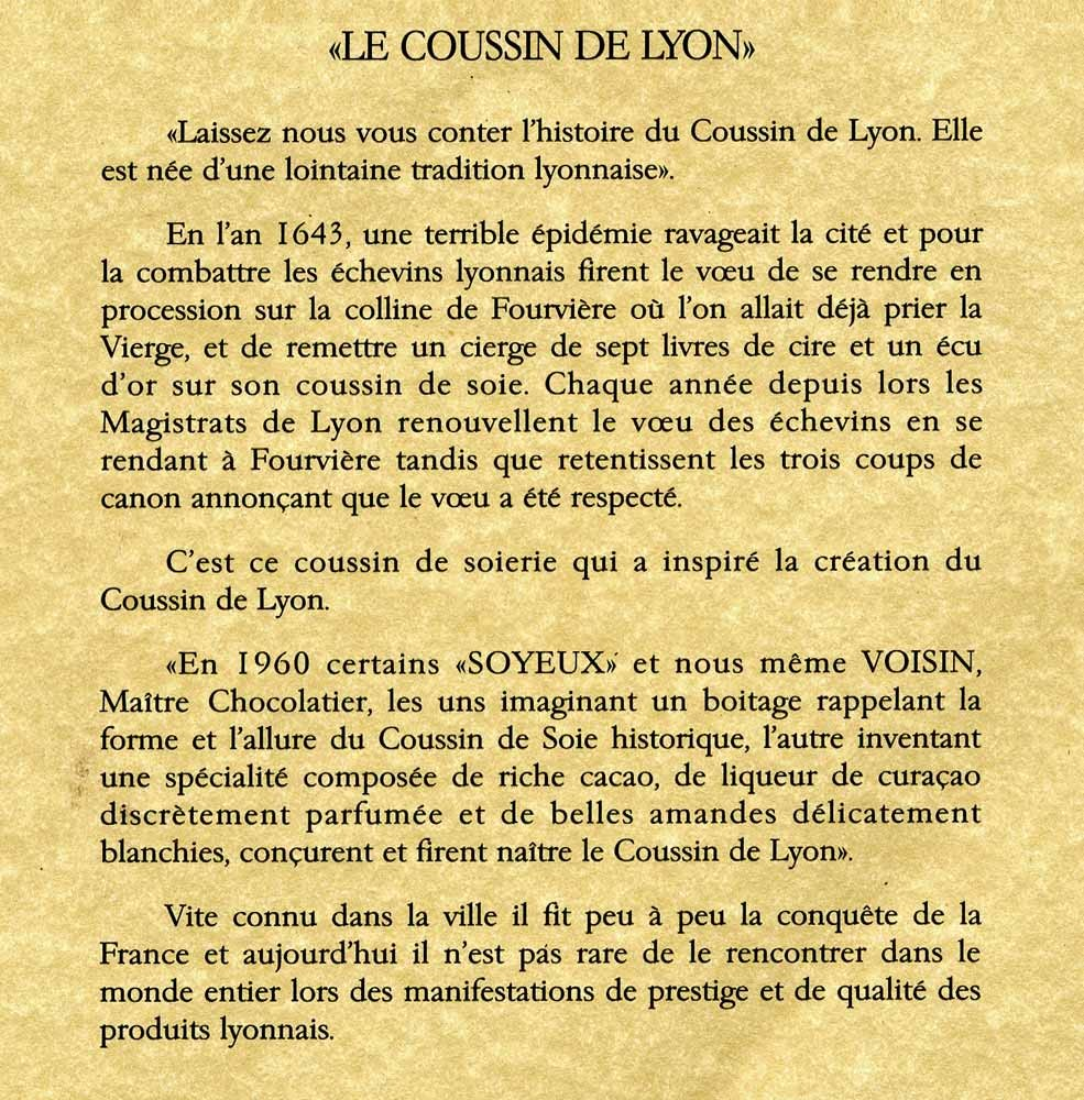 """Histoire du """"Coussin"""""""